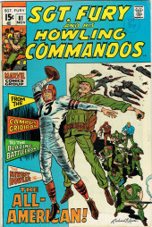 Sgt. Fury and his Howling Commandos (Marvel - 1963) -81- The All-American !