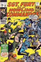 Sgt. Fury and his Howling Commandos (Marvel - 1963) -82- The Howlers Hit The Home Front !