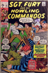 Sgt. Fury and his Howling Commandos (Marvel - 1963) -83- This is the big one !