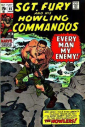 Sgt. Fury and his Howling Commandos (Marvel - 1963) -85- Every Man My Enemy !