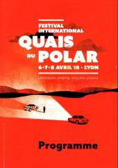 (Catalogues) Éditeurs, agences, festivals, fabricants de para-BD... - Programme 2018 - Quais du polar