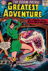 My greatest adventure Vol.1 (DC comics - 1955) -85- The furies from 4000 miles below
