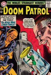 Doom Patrol (1964) -88- The Man Who Lived Twice!