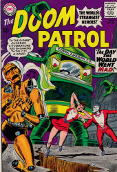 Doom Patrol (1964) -96- The day the world went mad