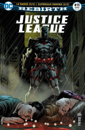 Justice League Rebirth (DC Presse) -11- Le Badge (2/2) + Superman Reborn (2/3)