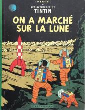 Tintin (Historique) -17C4- On a marché sur la lune