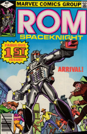 Rom Spaceknight (Marvel - 1979) -1- Arrival!