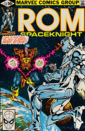 Rom Spaceknight (Marvel - 1979) -12- Heart attack