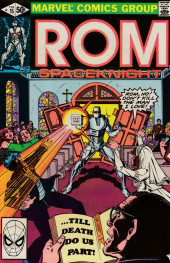 Rom Spaceknight (Marvel - 1979) -15- A wedding