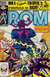 Rom Spaceknight (Marvel - 1979) -26- Galactus