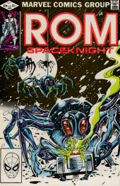 Rom (1979) -30- Silver spiders in the snow