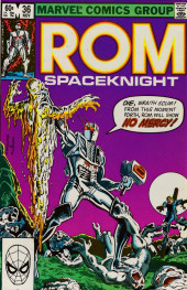 Rom Spaceknight (Marvel - 1979) -36- Scarecrow