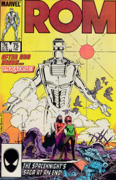 Rom Spaceknight (Marvel - 1979) -75- The end!