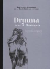 Les grands Classiques de la Bande Dessinée érotique - La Collection -5342- Druuna - tome 5 Mandragora
