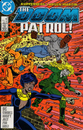 Doom Patrol Vol.2 (DC Comics - 1987) -6- Heroes and villains!