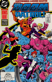 Doom Patrol Vol.2 (DC Comics - 1987) -9- It's raining plastic men