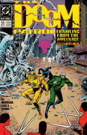 Doom Patrol Vol.2 (DC Comics - 1987) -21- Crawling from the wreckage part 3 of 4: Worlds in collision