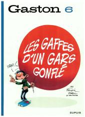 Gaston (Édition 2018) -6- Les gaffes d'un gars gonflé