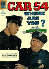 Four Color Comics (Dell - 1942) -1257- Car 54, Where Are You?