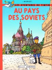 Tintin - Pastiches, parodies & pirates -4c- Les aventures de Tintin au pays des soviets