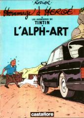 Tintin - Pastiches, parodies & pirates -19b2005- L'alph-art