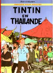 Tintin - Pastiches, parodies & pirates -1f- Tintin en Thaïlande