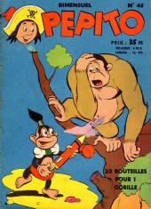 Pepito (1re Série - SAGE) -45- Le trésor du château branlant