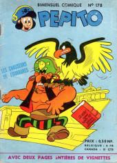 Pepito (1re Série - SAGE) -178- Les chasseurs de fourrures