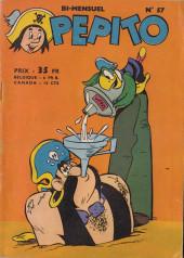 Pepito (1re Série - SAGE) -57- Bec de Fer s'en va en perm