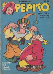 Pepito (1re Série - SAGE) -53- L'homme qui savait l'avenir