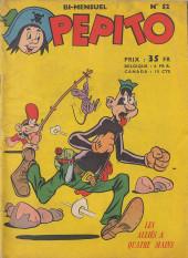 Pepito (1re Série - SAGE) -52- Les alliés à quatre mains