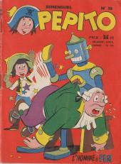Pepito (1re Série - SAGE) -38- L'homme de fer