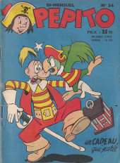 Pepito (1re Série - SAGE) -34- Un cadeau qui parle