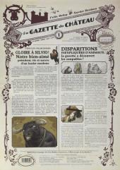 Le château des Animaux -1- La Gazette du Château n°1