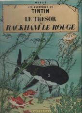 Tintin (Historique) -12B36'- Le trésor de rackham le rouge