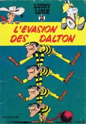 Lucky Luke -15b1973- L'évasion des Dalton