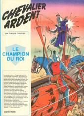 Chevalier Ardent -14- Le champion du roi