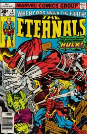 The eternals Vol.1 (Marvel comics - 1976) -14- Ikaris and the Cosmic Powered Hulk