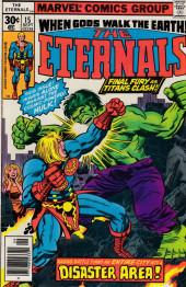 The eternals Vol.1 (Marvel comics - 1976) -15- Disaster Area