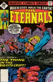 The eternals Vol.1 (Marvel comics - 1976) -16- Big City Crypt