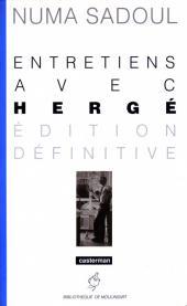 (AUT) Hergé -1b- Entretiens avec Hergé (édition définitive)