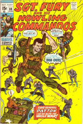 Sgt. Fury and his Howling Commandos (Marvel - 1963) -88- Save General Patton... or we blow the whole War !