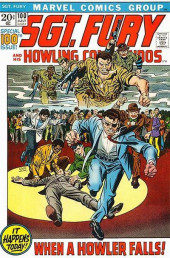 Sgt. Fury and his Howling Commandos (Marvel - 1963) -100- When a Howler falls !