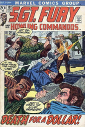 Sgt. Fury and his Howling Commandos (Marvel - 1963) -102- Death For a Dollar !