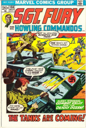 Sgt. Fury and his Howling Commandos (Marvel - 1963) -104- The Tanks Are Coming !
