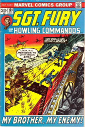 Sgt. Fury and his Howling Commandos (Marvel - 1963) -105- My Brother, My Enemy !