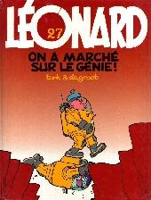 Léonard -27- On a marché sur le génie !