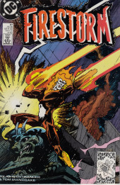 Firestorm, the nuclear man (1982) -87- Freak storm