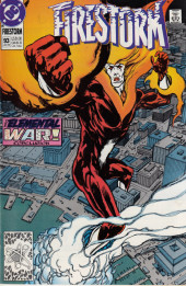 Firestorm, the nuclear man (1982) -93- The elemental war conclusion: Storm front