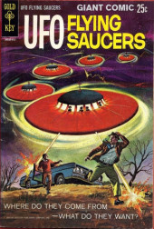 UFO Flying Saucers (Gold Key - 1968) -1-